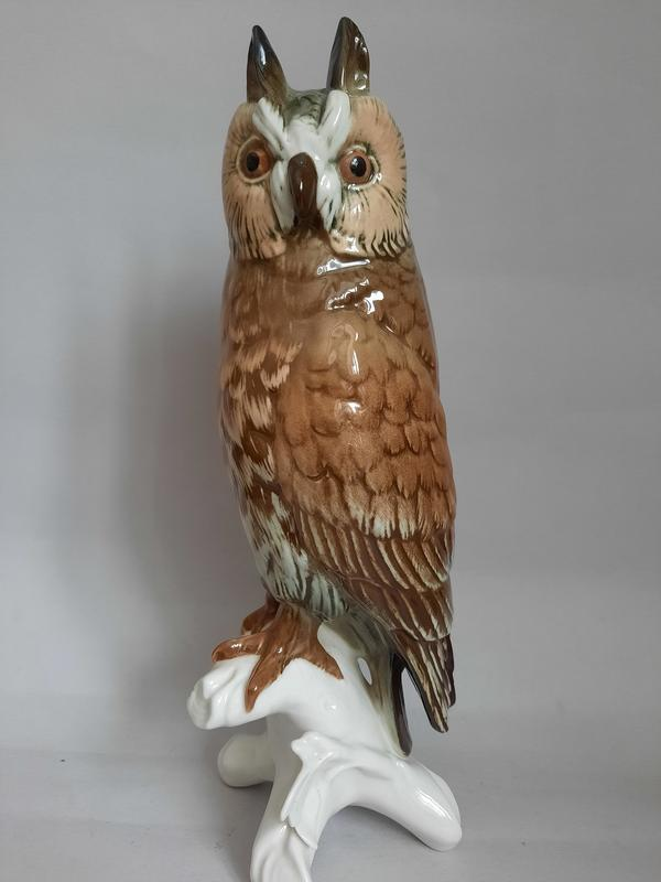 Большая ушастая сова. Karl Ens, Германия.1950 гг