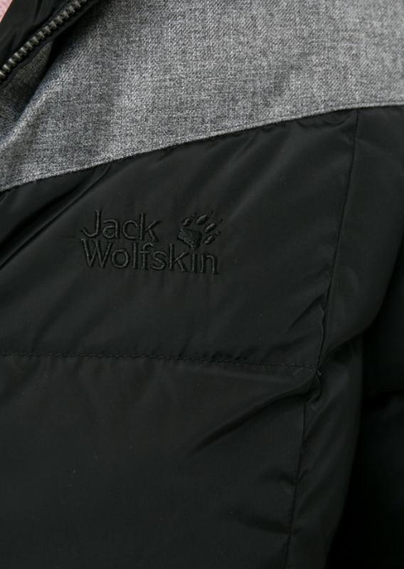 Пуховик зимний jack wolfskin women's baffin island. оригинал - Фото 6