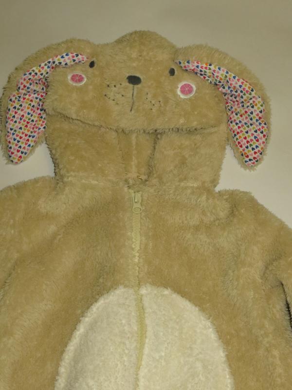 Мягкая теплая пижамка, слип, кигуруми 3-4года