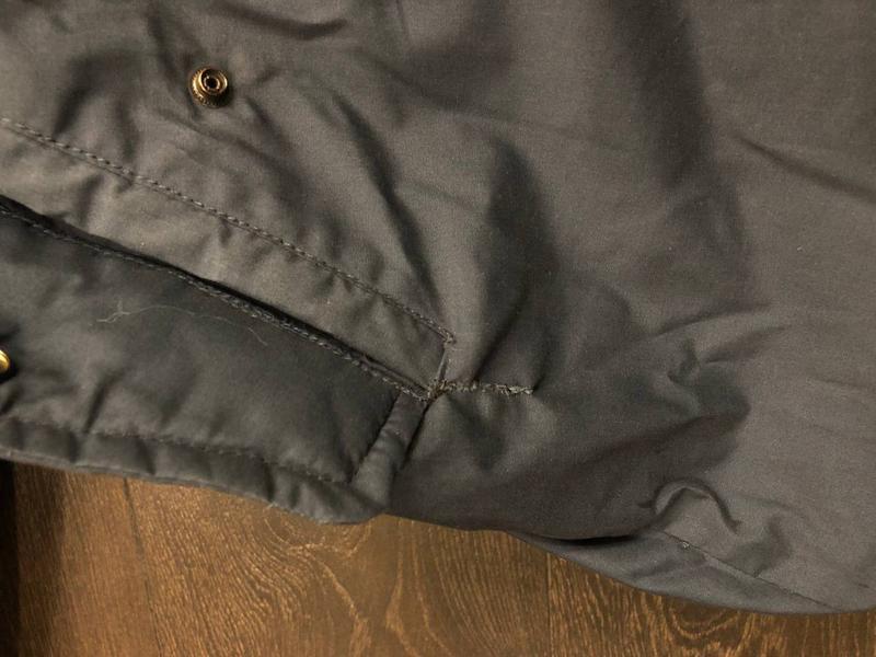 Куртка мужская осень-весна (для теплой зимы). Размер S/36. Синяя - Фото 8