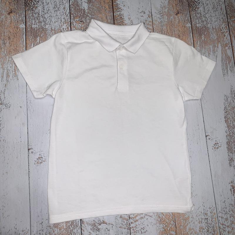 Детская белая тенниска для мальчика