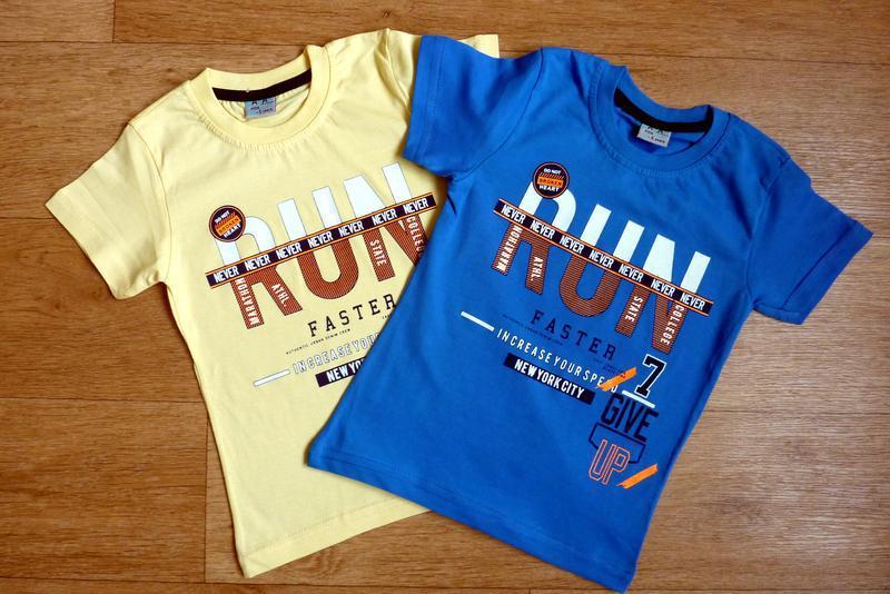 Яркие, модные футболки, турция от 4-5 до 8-9 лет