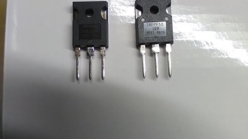 Набор транзисторов IRFPF50 IRFP450 2SC4288A IXYS DSEI 30-06a IRG4 - Фото 2