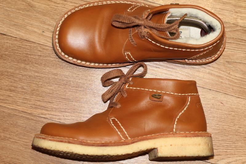 Зимние ботинки camel active havanna на широкую ножку.