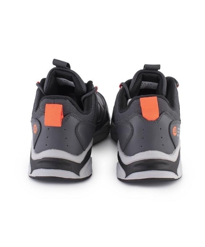 Кроссовки мужские черные и серые. эко кожа - Фото 4