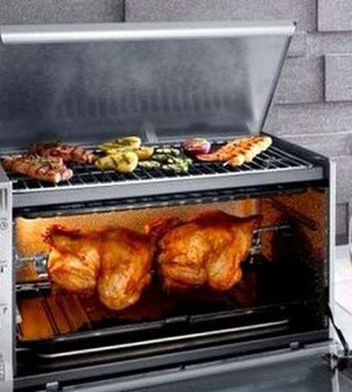 Электрическая печь, ростер, электроростер, нержавеющая сталь - Фото 5