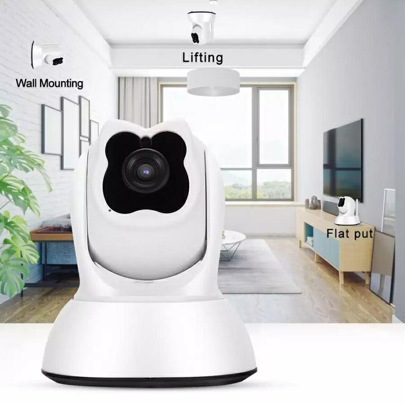Поворотная WiFi IP-камера видеонаблюдения,ночная съемка,видеоняня - Фото 2