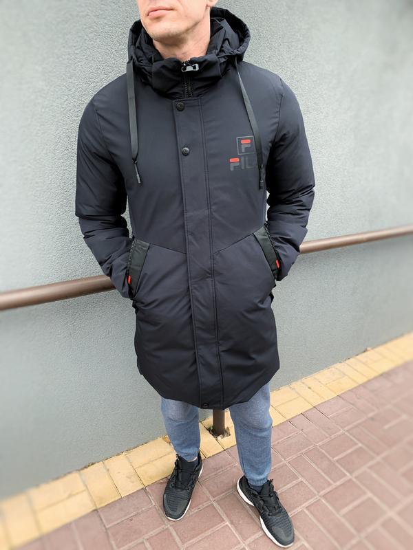 Мужская парка, куртка, пуховик