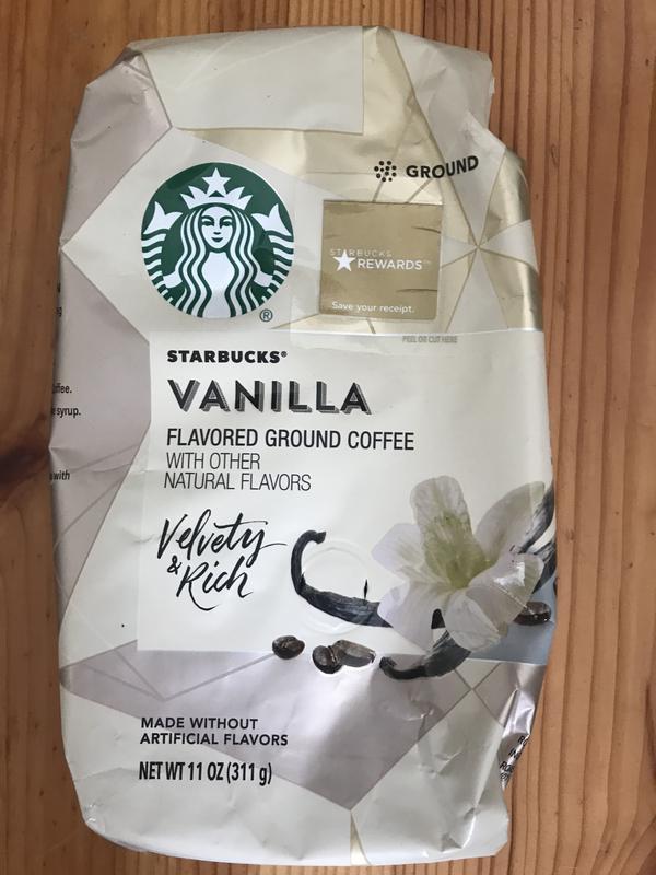 Кофе сша Starbucks Vanilla 311 гр, кава старбакс з америки