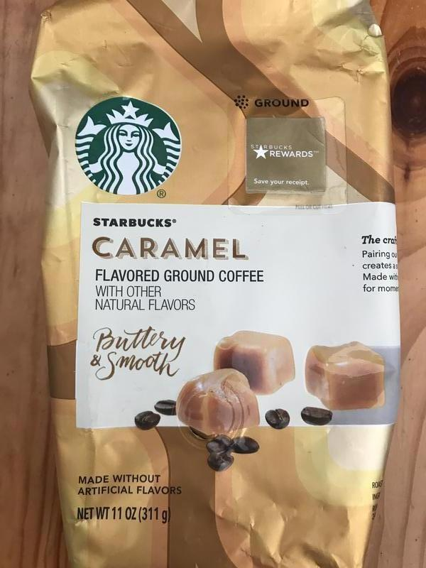 Кофе сша Starbucks Сaramel 311 гр, кава старбакс з америки