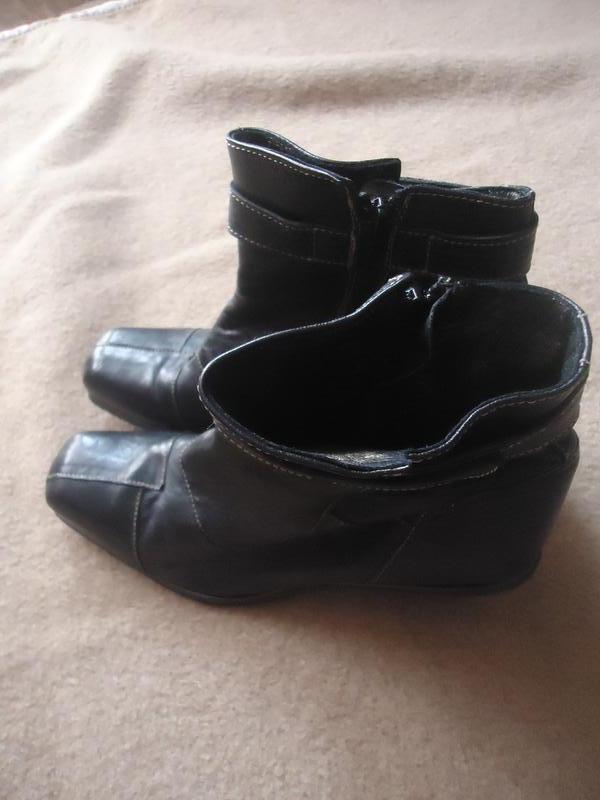 Эксклюзивные кожаные сапоги с оригинальным каблуком eject - Фото 2