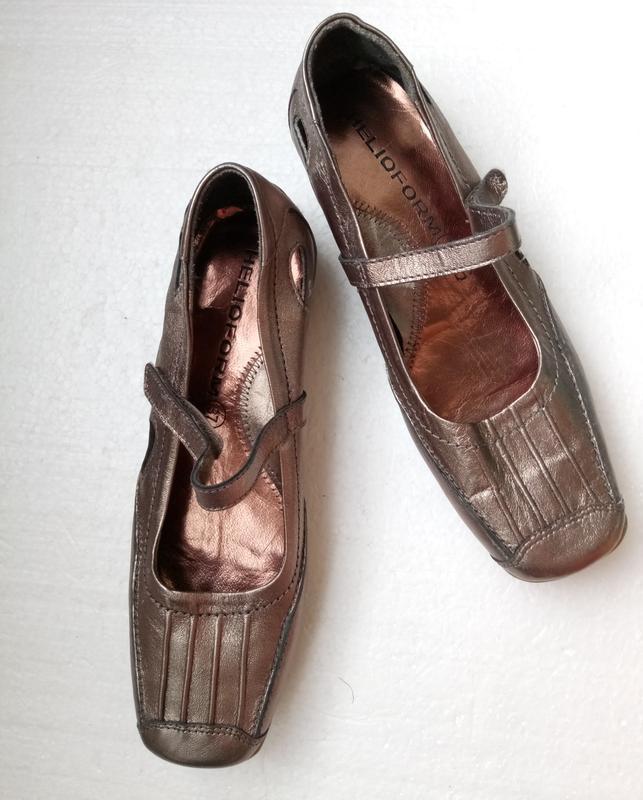 Балетки туфли от helioform из натуральной кожи, новые, р. 37, ...