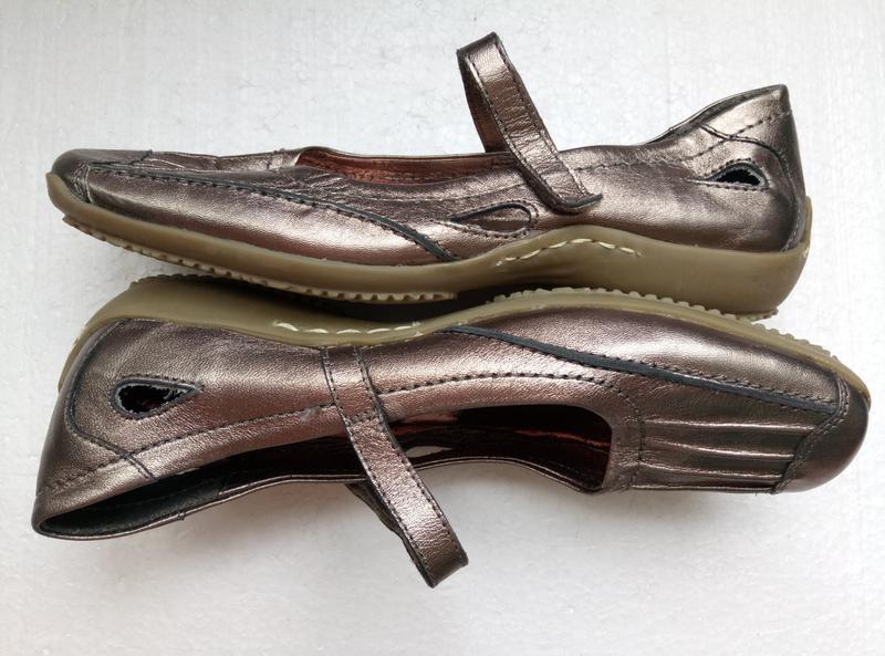 Балетки туфли от helioform из натуральной кожи, новые, р. 37, ... - Фото 2