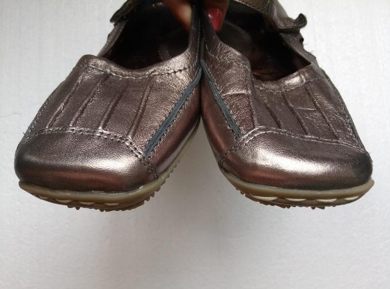 Балетки туфли от helioform из натуральной кожи, новые, р. 37, ... - Фото 3