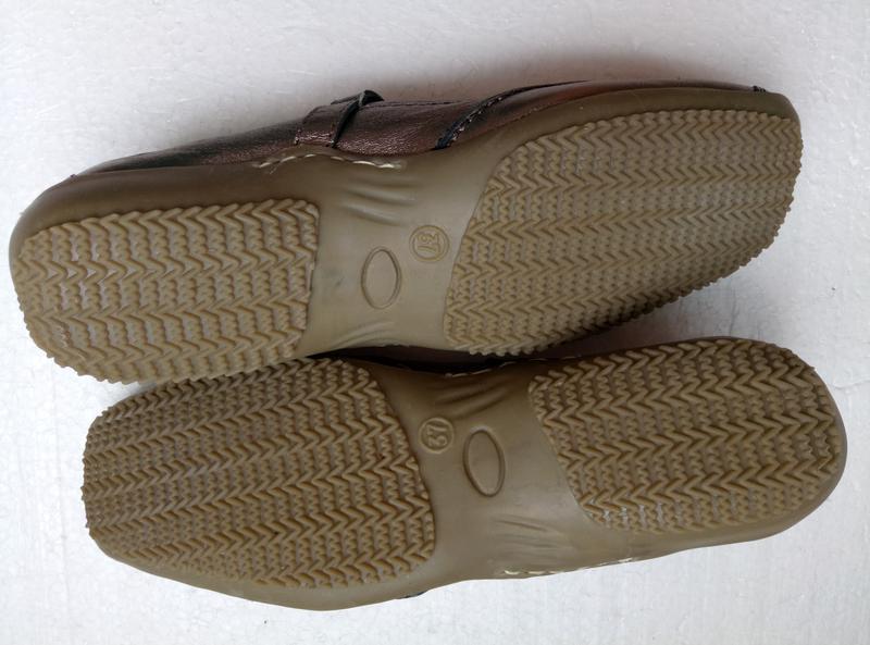 Балетки туфли от helioform из натуральной кожи, новые, р. 37, ... - Фото 4