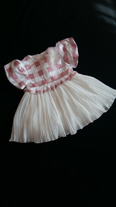 Нарядное платье gaialuna (италия) на 9-12 месяцев (размер 76)
