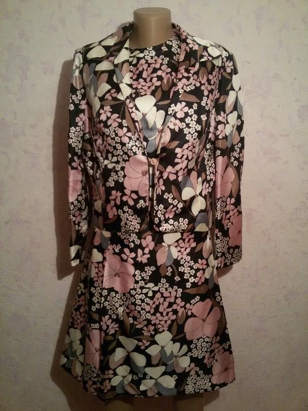 Костюм - платье и пиджак