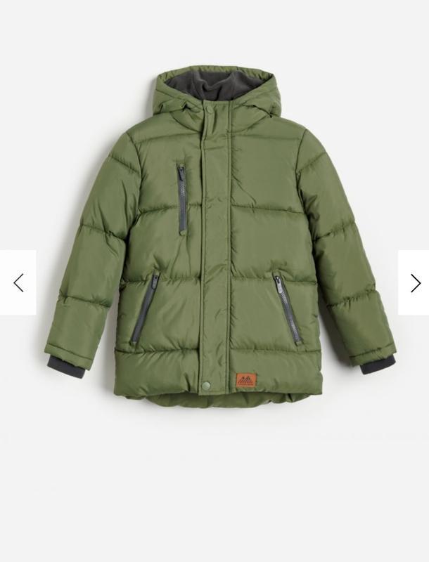 Демисезонная куртка (евро-зима) reserved для мальчика 140 см (...