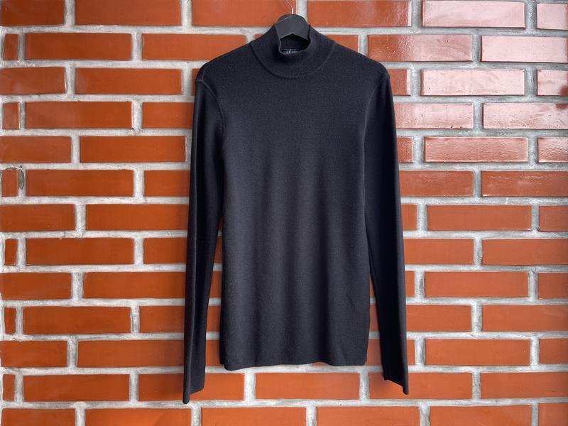 Armani jeans оригинал мужской шерстяной свитер гольф размер l ...