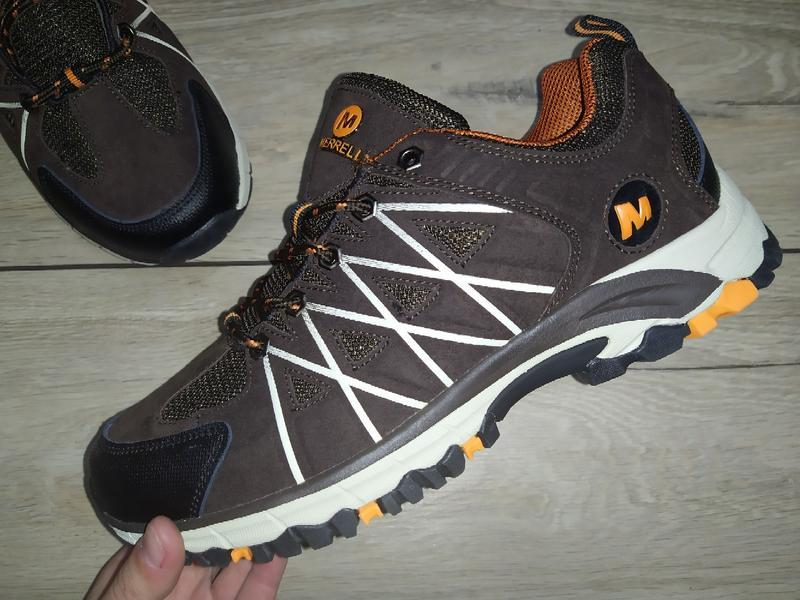Термо кроссовки ботинки мужские merrell waterproof деми осень