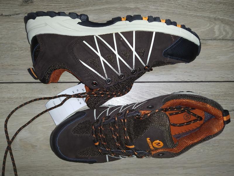 Термо кроссовки ботинки мужские merrell waterproof деми осень - Фото 4