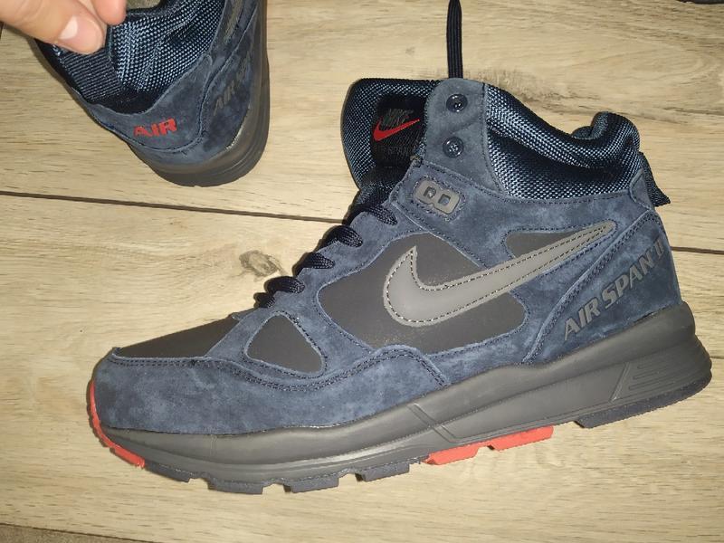 Зимние ботинки nike air span зима мех