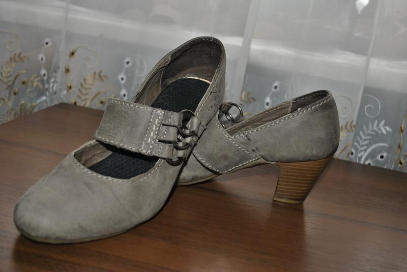Качественные кожаные туфли 40рр - Фото 2