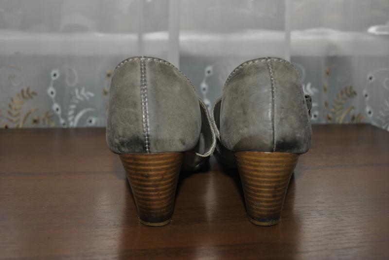 Качественные кожаные туфли 40рр - Фото 4