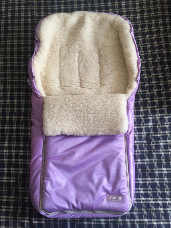 Спальный мешок-конверт на овчине womar (польша)