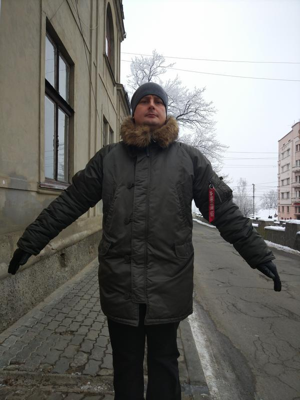 Парка аляска alpha industries n3b slim fit