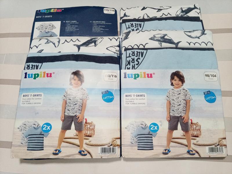 Детские футболки для мальчика тм lupilu