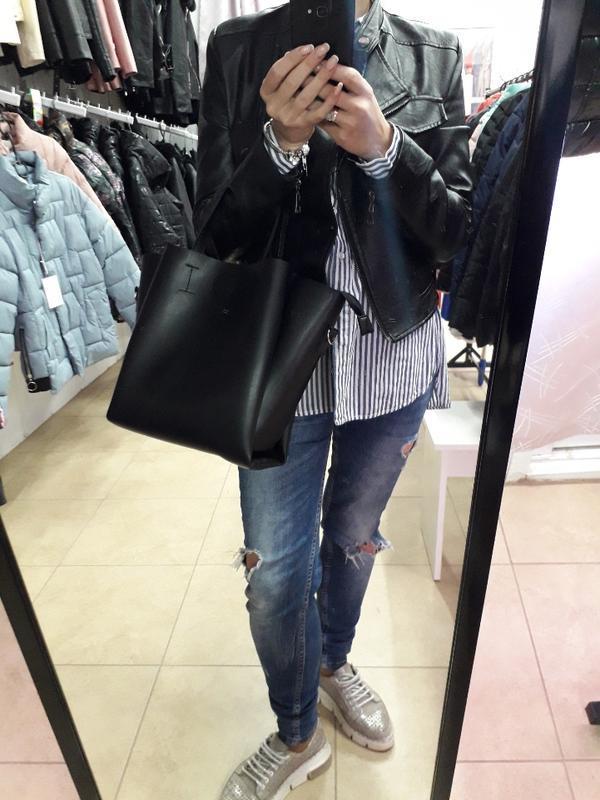 Класична сумка в еко шкірі
