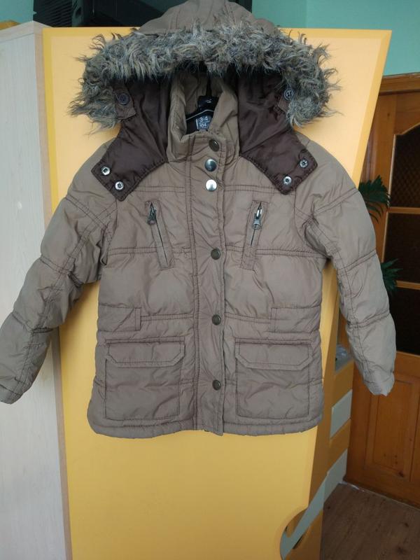 Куртка зимняя zara  для девочки