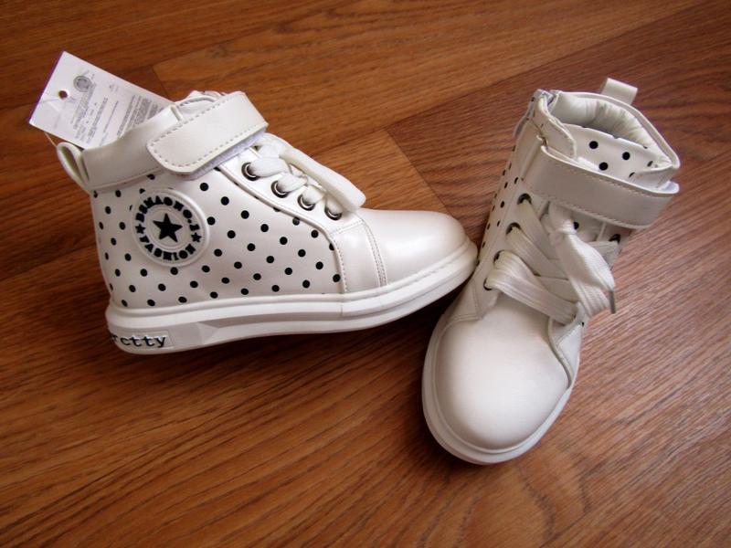 Новые дэми ботинки