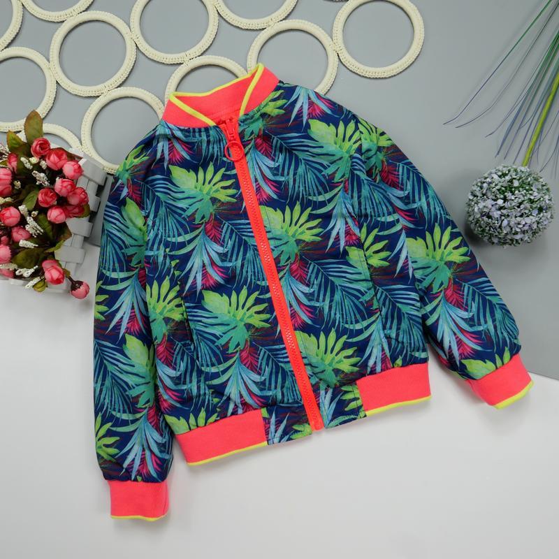 Двухсторонняя куртка, ветровка на 5 лет