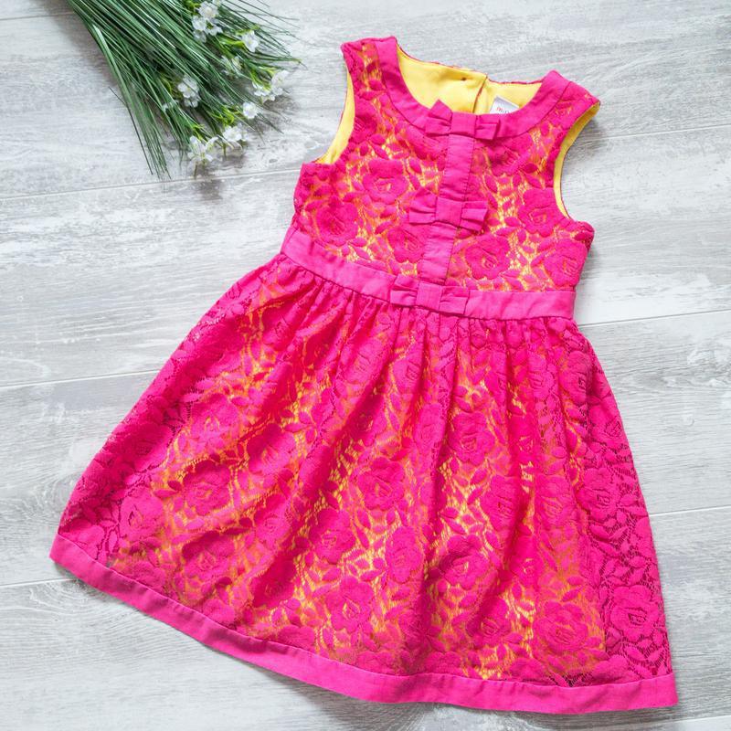 Нарядное платье гипюровое