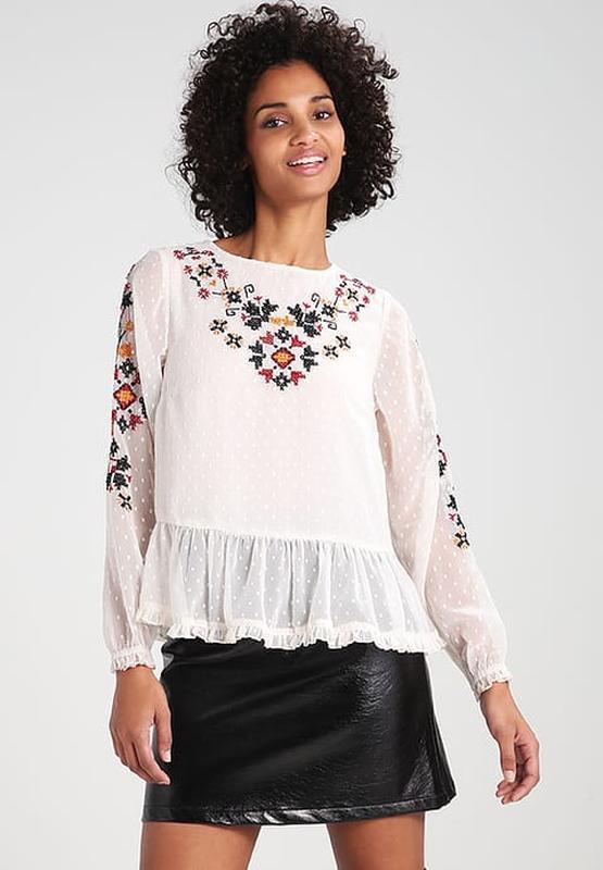 "Блуза шифоновая с вышивкой ""new look"""