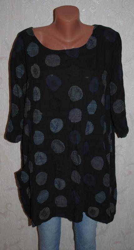 Блуза с карманами (италия)