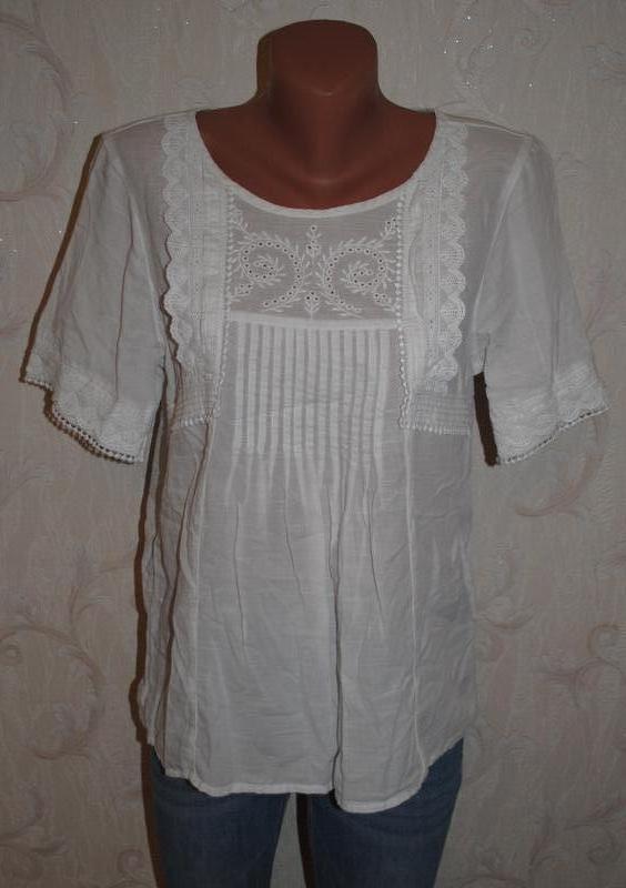 """Блуза с вышивкой """"next"""""""