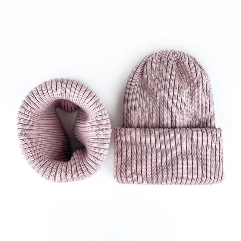 Комплект набор шапка хомут 50-56