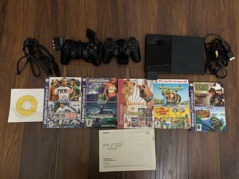 Продам Sony PlayStation 2 - Фото 2