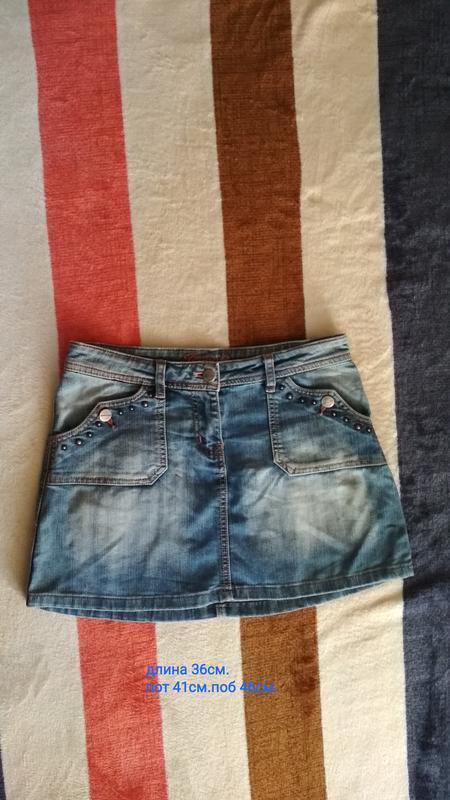 Акция!брендовая, джинсовая юбка новая