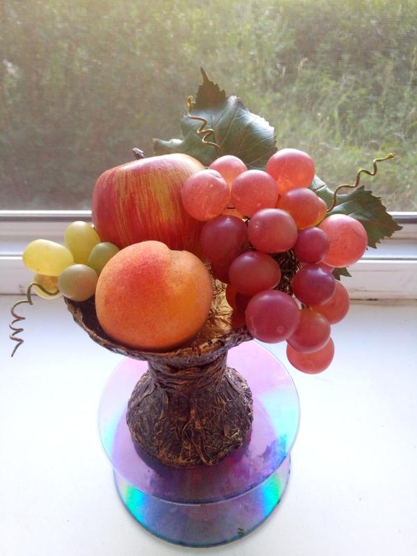 Интерьерная композиция, ваза(фрукты) - Фото 7