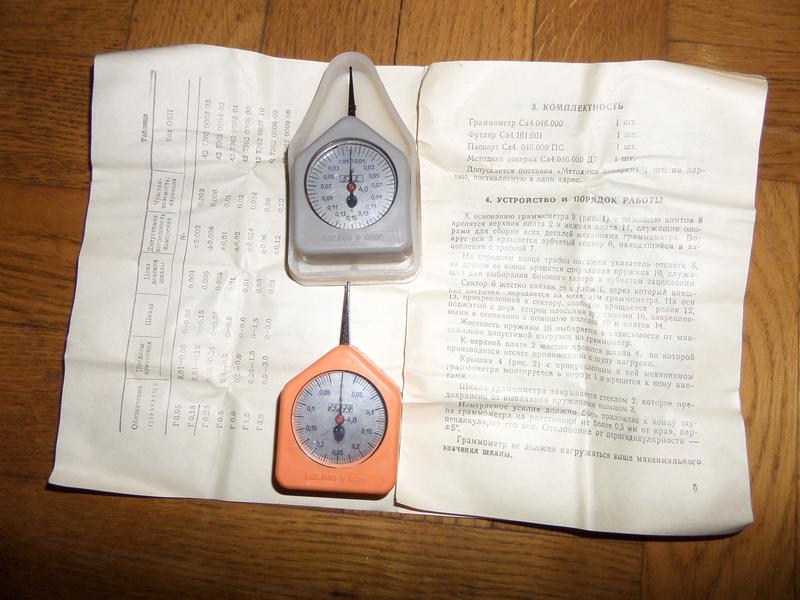 Граммометры часового типа - Фото 4