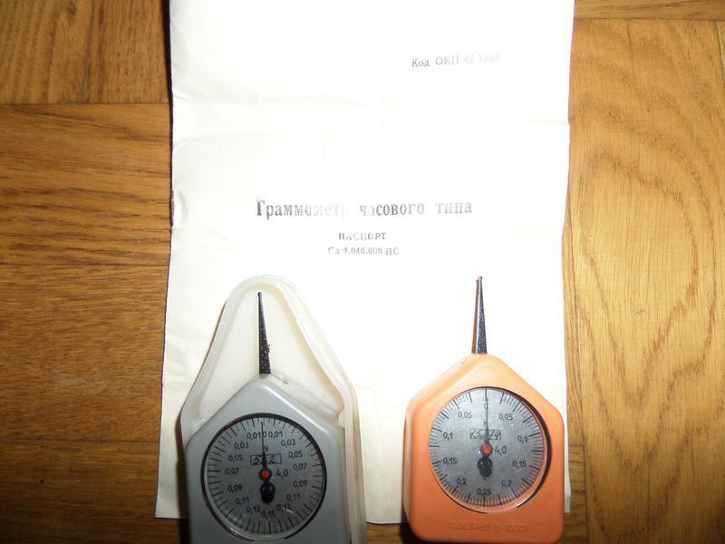 Граммометры часового типа - Фото 5