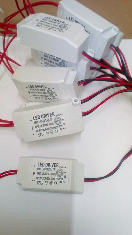 Лед драйвер , LED driver 260-300 mA , 30-90 V , 8-25 W - Фото 3