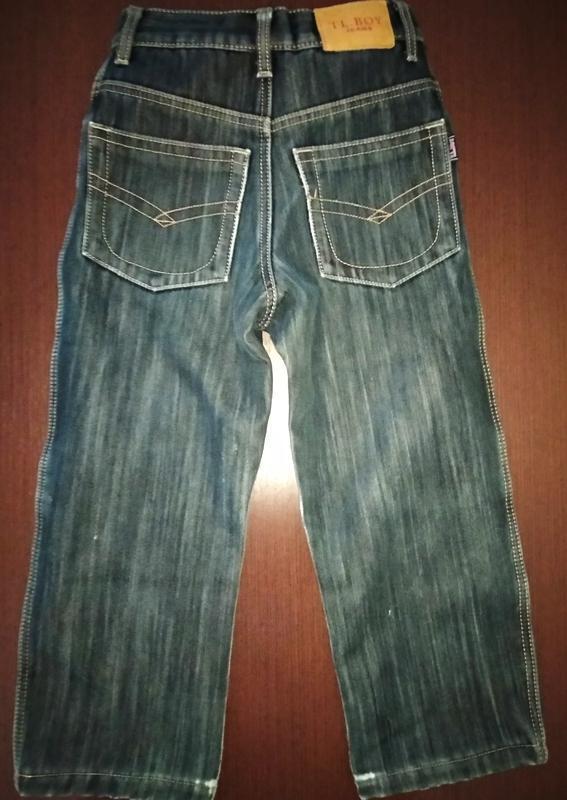 Теплые брюки джинсы на флисе