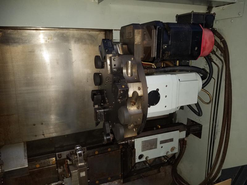 Токарный автомат станок Ernault-toyoda с чпу Cnc-d ( на русском )