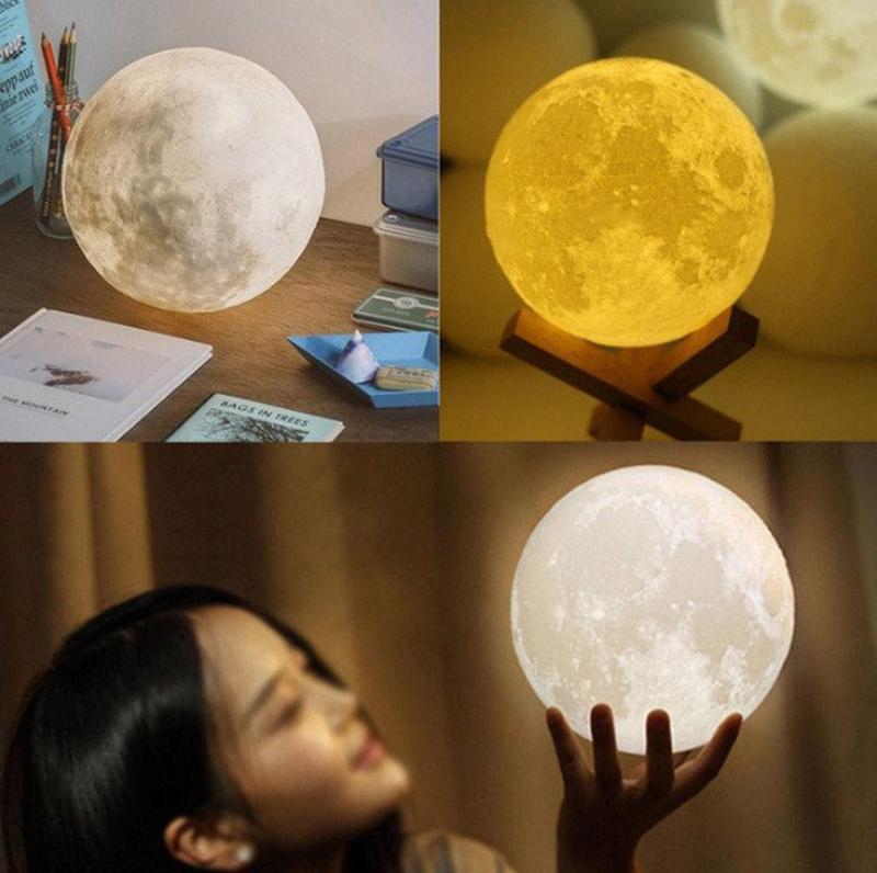 Ночник Луна 3D модель