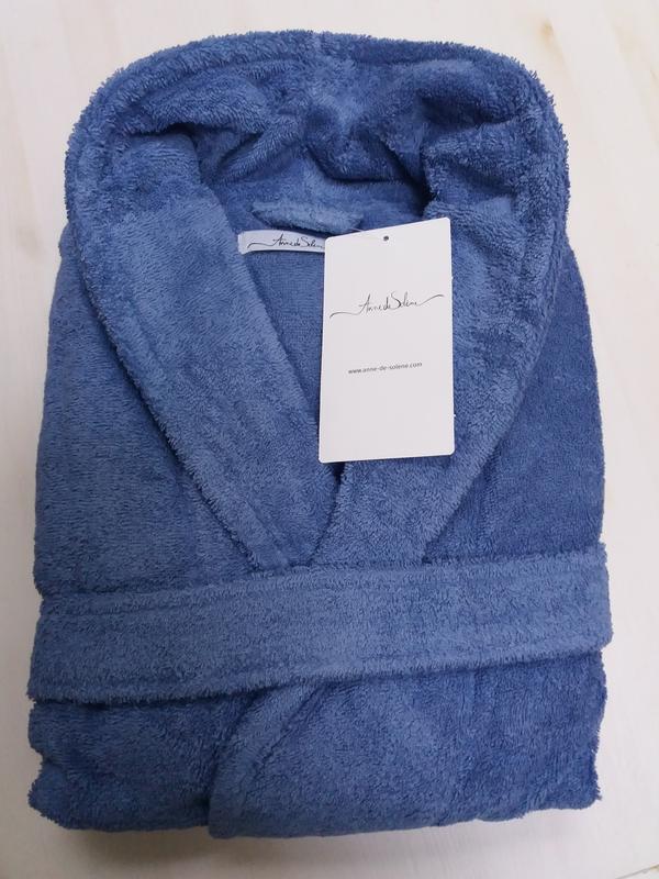 Anne de solene фрация махровый халат. размер l. унисекс